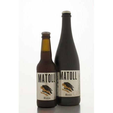 Cerveza Matoll Roja