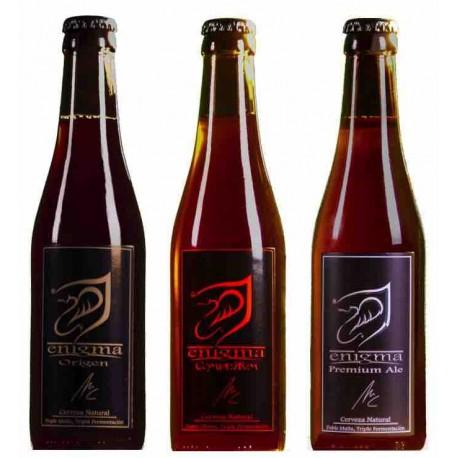 Pack degustación Cervezas Enigma
