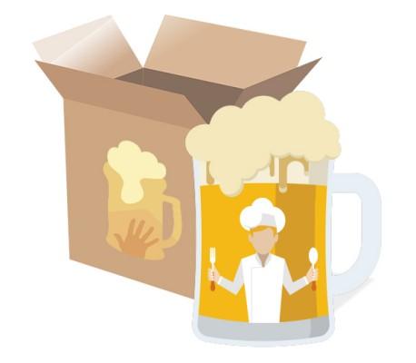 Pack de Cerveza Artesana para Cocinar