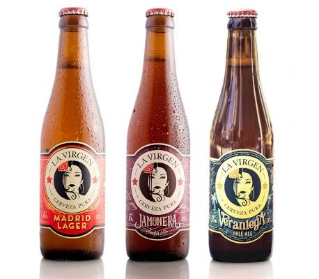 Pack Degustación Cerveza La Virgen