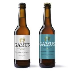 Pack degustación Cerveza Gamus