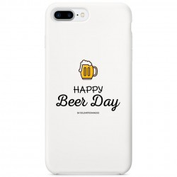 "Carcasa para móvil ""Happy Beer Day"" (blanca)"