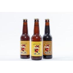 Pack degustación Cervesa Palau (Porter, Weizenbock y Bitter)