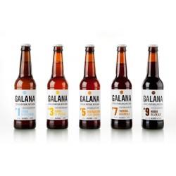 Pack degustación Cerveza Galana