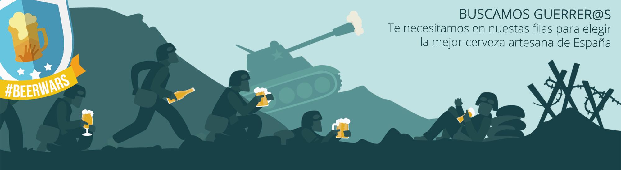 Buscamos guerrer@s para las Beer Wars
